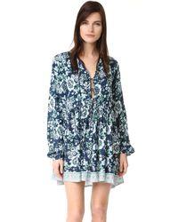 Tiare Hawaii - Blue Dahlia Dress - Lyst