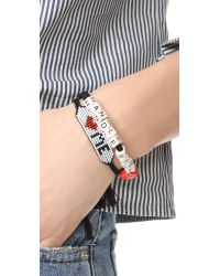 Venessa Arizaga - Multicolor Handle With Love Bracelet - Lyst