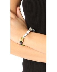 Venessa Arizaga - Green Party Animals Bracelet - Lyst
