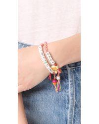 Venessa Arizaga | Multicolor Party Time Bracelet | Lyst