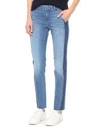 Vince | Blue Denim Strapping Jeans | Lyst
