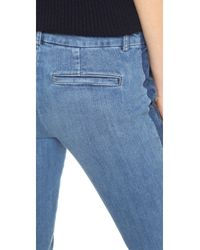 Vince - Blue Denim Strapping Jeans - Lyst