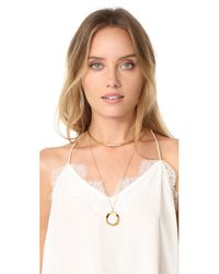Vita Fede - Metallic Cosimo Pendant Necklace - Lyst