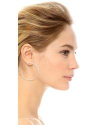 Vita Fede - Metallic Moon Earrings - Lyst