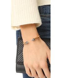 Vita Fede - Metallic 'titan' Two-tone Bracelet for Men - Lyst