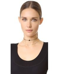 Vanessa Mooney - Metallic The Jessica Choker Necklace - Lyst