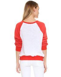 Wildfox - Red Friendship Sweatshirt - Lyst