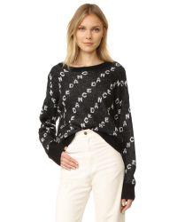 Wildfox | Black Dance Repeat Sweater | Lyst