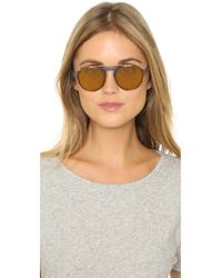 Westward Leaning - Orange Dyad 9 Clip Sunglasses - Lyst