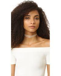 Jennifer Zeuner - Metallic Ivy Gia Double Wrap Necklace - Lyst