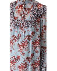 Robert Rodriguez   Multicolor Long Sleeve Ruffle Dress   Lyst