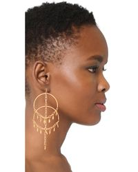 Vanessa Mooney - Metallic The Cannes Earrings - Lyst