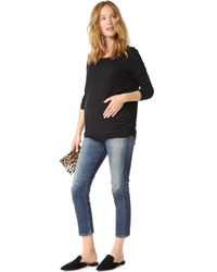 Ingrid & Isabel - Black Relaxed Pullover - Lyst