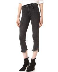 Siwy - Black Hemingway Slim Straight Jeans - Lyst