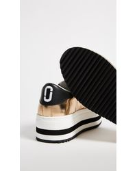 Marc Jacobs - Metallic Grand Platform Sneakers - Lyst