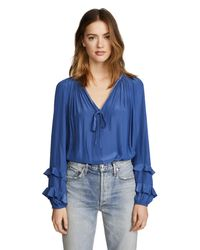 Ramy Brook - Blue Anna Blouse - Lyst