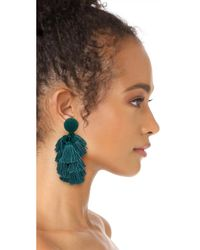 Sachin & Babi - Multicolor Cha Cha Fringe Clip On Earrings - Lyst