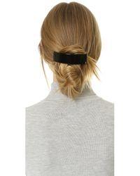 Alexandre De Paris - Black Thick Hair Clip - Lyst