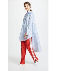 Monse - Blue Headturning Stripe Shirt - Lyst