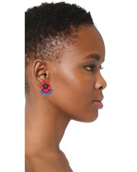 Elizabeth Cole | Multicolor Tamslin Earrings | Lyst