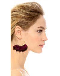 Gas Bijoux - Purple Buzios Earrings - Lyst
