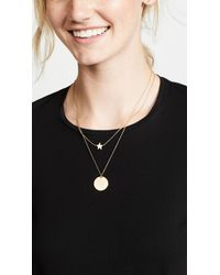 Madewell - Metallic Delicate Star Necklace - Lyst