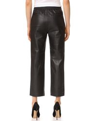 J Brand - Black Amari Leather Pants - Lyst