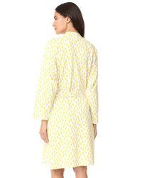 Roberta Roller Rabbit - Yellow Maternity Robe & Onesie Set - Lyst