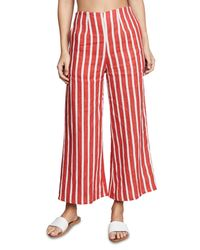 Faithfull The Brand - Red Tomas Pants - Lyst