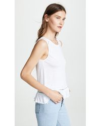Generation Love - White Milah Ruffle Top - Lyst