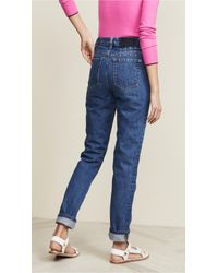 Ksubi Blue Slim Pin 2.0 Old Skool Jeans