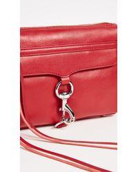 Rebecca Minkoff - Red Mini Mac Bag - Lyst