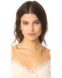 Alexis Bittar - Multicolor Crystal Spike Choker Necklace - Lyst