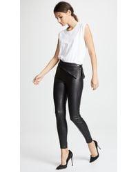 RTA - Black Rummer Leather Pants - Lyst