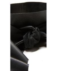 B-Low The Belt   Black Demi Wrap Wide Belt   Lyst