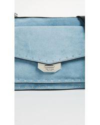 Rag & Bone - Blue Small Field Messenger Bag - Lyst