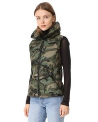Sam. - Green Camo Freedom Vest - Lyst