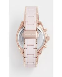 Michael Kors - Pink Bradshaw Watch, 38mm - Lyst