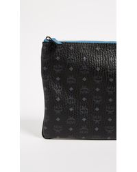 MCM - Black Medium Cross Body Pouch - Lyst