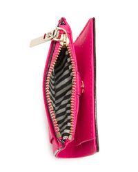 Kate Spade - Pink Adalyn Small Wallet - Lyst
