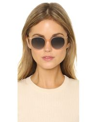 Garrett Leight - Orange Dillion Sunglasses - Lyst