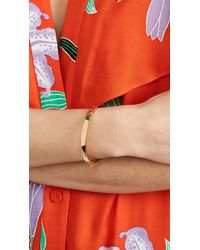 Kate Spade - Metallic One In A Million Initial Bangle Bracelet - Lyst