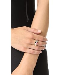Holly Dyment - Multicolor Go Lightly Enamel Ring - Lyst