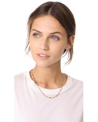 Vanessa Mooney | Metallic Divine Chain Necklace | Lyst