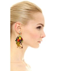 Elizabeth Cole - Multicolor Marina Earrings - Lyst