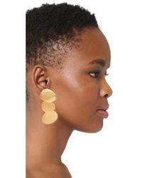 Lizzie Fortunato - Metallic Goldsworthy Earrings - Lyst