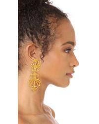 Ben-Amun | Metallic Clip On Statement Earrings | Lyst