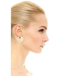 Elizabeth and James - Metallic Cleo Earrings - Lyst