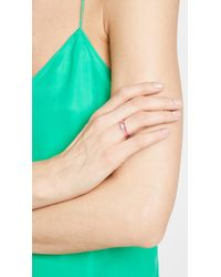Shashi - Pink Lucite Ring - Lyst
