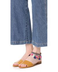Rebecca Minkoff - Multicolor Lola Charm Anklet - Lyst